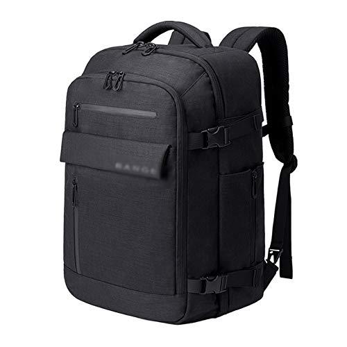 KJHGF Mochila para portátil de 17 pulgadas de gran capacidad, mochila para hombre, mochila de viaje multifuncional, mochila para viajes cortos, impermeable, mochila de embarque B