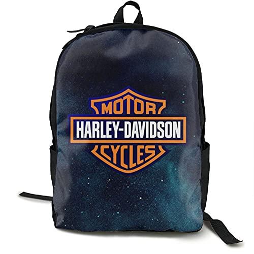 Mochila unisex ligera y casual Harley Davidson mochila...