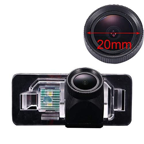 Neues Objektiv HD Farbe Einparkhilfe Auto Rückfahrkamera, Super Weitwinkel Wasserdichte Nachtsicht Car Camera für BMW 1 3 5 X1 X5 X6 M3 E46 E90 E91 E92 E93 E82 E88 E39 E60 523i E53 E70 328i 320i 520Li