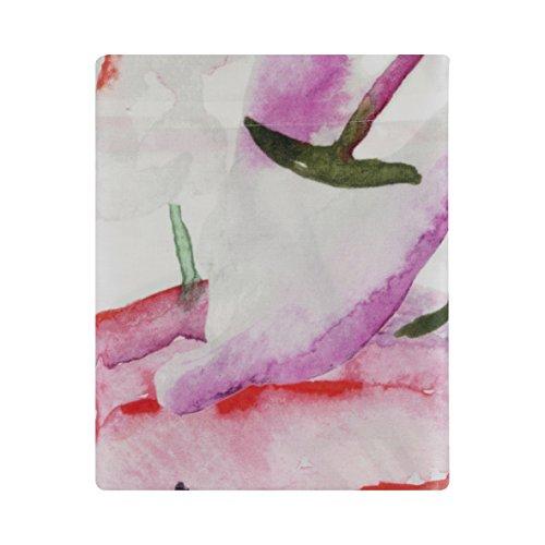 Essix - Drap Plat Floraison Satin de coton Multicolore 240 x 300 cm