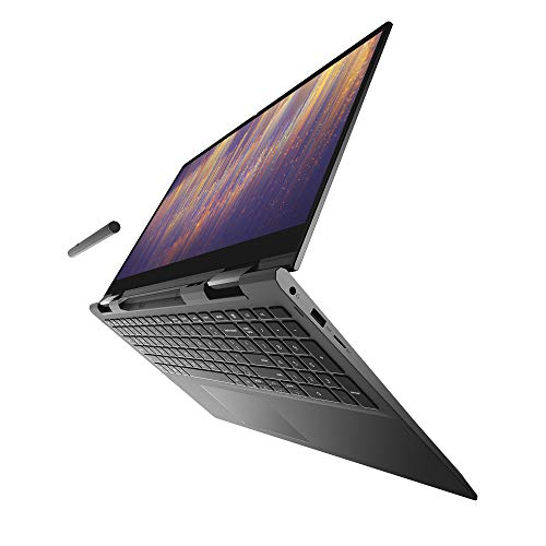 Dell Inspiron 7000 13.3 Inch FHD 2-in-1 Laptop, Intel Core i5-1135G7 (11th Gen), Narrow Border WVA Display with Active Pen and Charging Dock, 8 GB RAM, 512 GB SSD, Fingerprint Reader, Win 10 Home