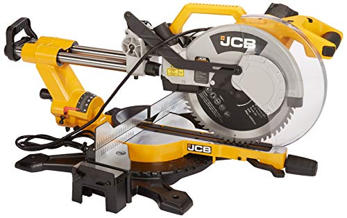 """JCB Tools - 12"""" Sliding Double Bevel 120V Miter Chop Saw Power Tool 