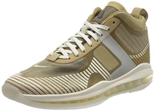 Nike Herren Lebron X JE ICON QS Basketballschuh, Parachute Beige Desert York Sail Phantom, 46 EU