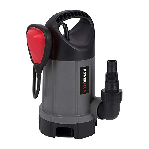 Powerplus - Bomba sumergible 400w agua sucia 1x230v, colores surtidos