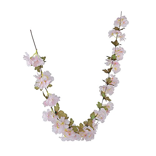 Fun Express Light Pink Flower Garland~Wedding Party Supplies and Decorations