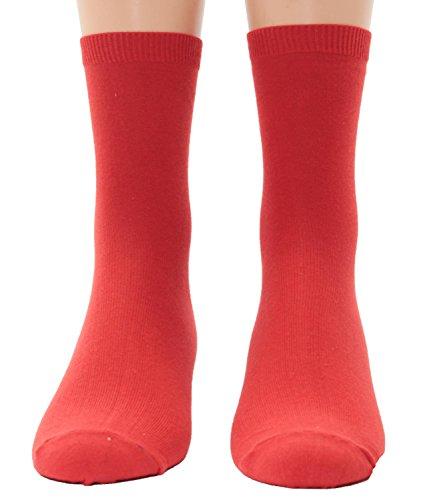 Shimasocks Kinder Socken uni 1 Paar, Farben alle:rot, Größe:27/30
