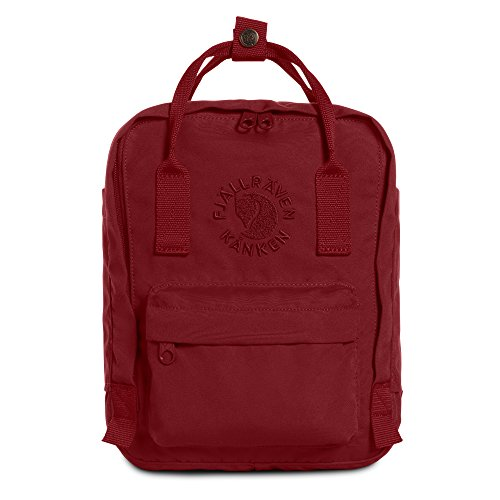 Fjällräven Re-Kånken Mini - Mochila, Unisex Adulto, Rojo (Ox Red), 29 x 20 x 13 cm