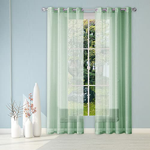 Cortinas Curtains, cortina de voile, cortina semitransparente con aspecto de lino, cortina...
