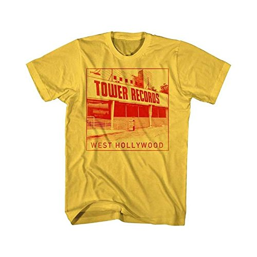 Tower Records Tシャツ タワー・レコーズ West Hollywood S