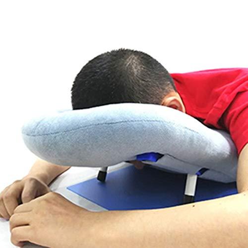 Joyfitness Almohada Boca Abajo Después De La Cirugía Ocular, Almohada para La Siesta, Almohada Ergonómica para El Descanso del Cuello Y La Cabeza para Pacientes con Desprendimiento De Retina