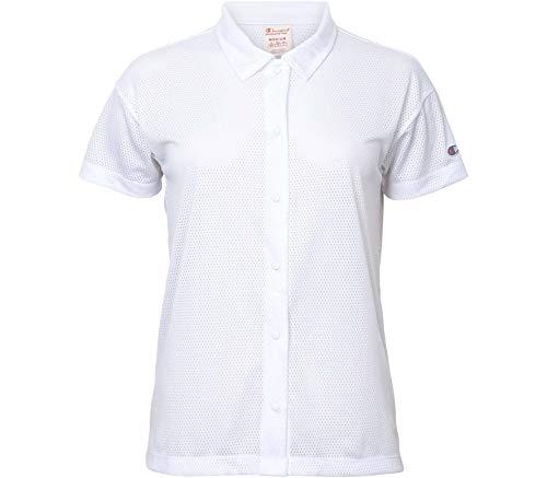 Champion Reverse Weave Soft Mesh Baseball Damen T-Shirt M