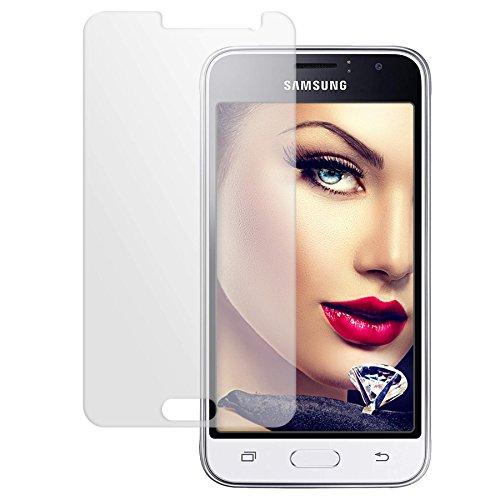 mtb more energy® Schutzglas für Samsung Galaxy J1 2016 (SM-J120, 4.5'') - Tempered Glass Protector Schutzfolie Glasfolie