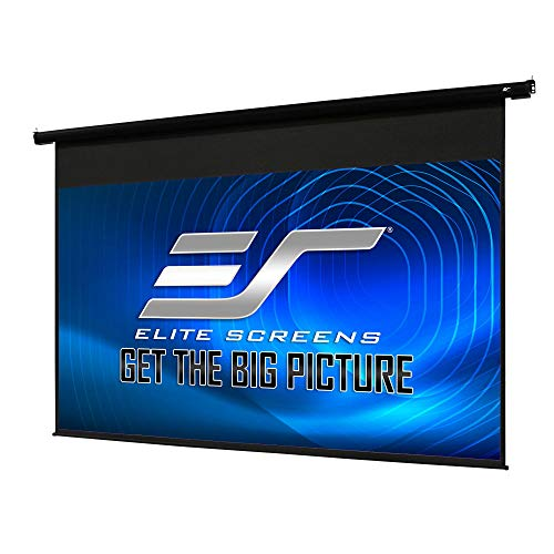 Elite Screens Spectrum Electric Motorized Projector Screen with Multi Aspect Ratio Function Max Size 100-inch Diag 16:9 to 95-inch Diag...