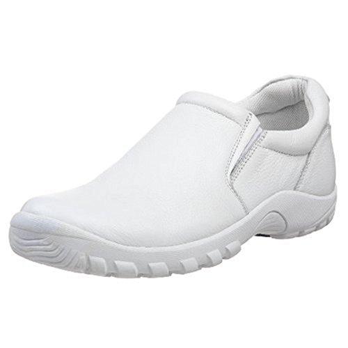 Spring Step Women's Beckham Uniform Dress Shoe, White, 10.5-11 Medium US