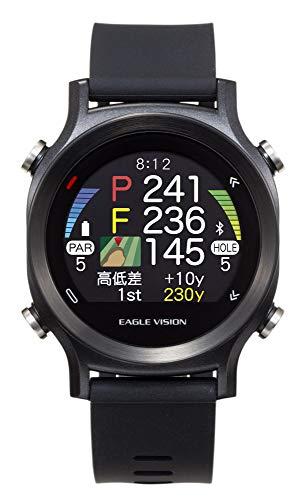 アサヒゴルフ EAGLE VISION watch ACE EV-933 BK