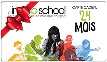 Carte abonnement 24 mois imusic-school