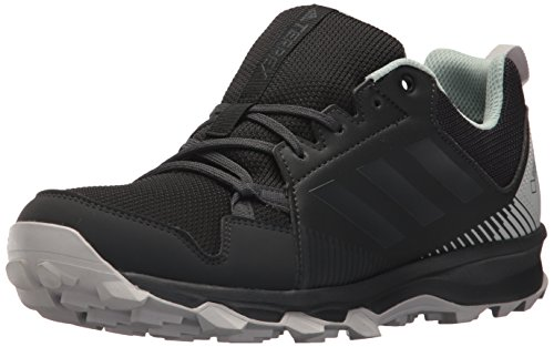 adidas outdoor Women's Terrex Tracerocker GTX W Trail Running Shoe, Black/Carbon/ash Green, 6.5 M US