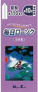 日本香堂 毎日ローソク 豆粒 約110本入
