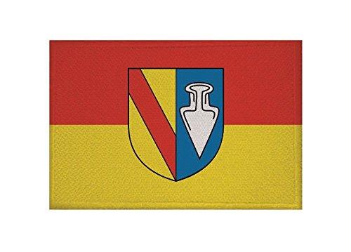 U24 Aufnäher Denzlingen Fahne Flagge Aufbügler Patch 9 x 6 cm
