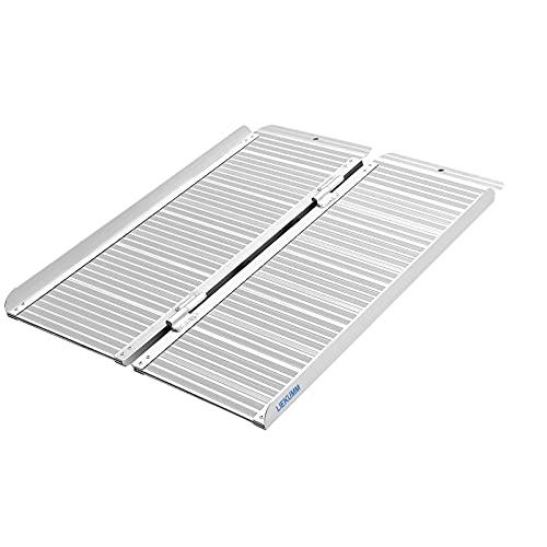 LIEKUMM Rampa de umbral de 90 x 72 cm para escaleras domésticas,...