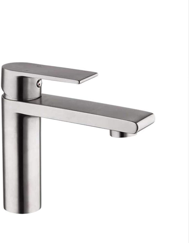 Jukunlun Basin Faucet Water Mixer Tap Basin Sink Faucets Bathroom Stainless Steel Faucet Waterfall Toilet Basin Tap