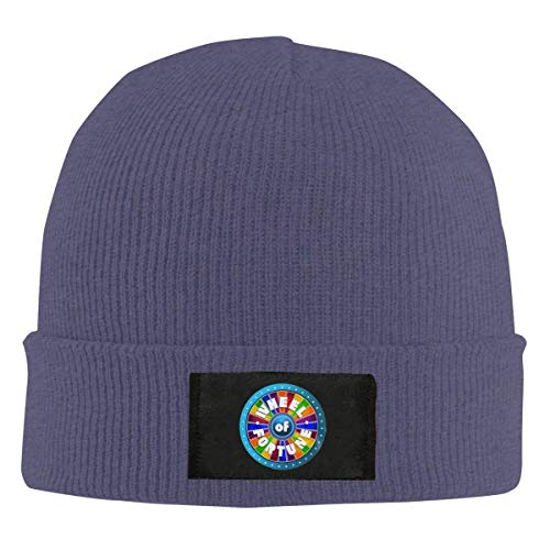 licht Saber DUN Retro-Wheel-of-Fortune-Cool Beanie Caps Schedel Cap Breien Hoed Warm Winter Hedging Cap voor Mannen Vrouwen
