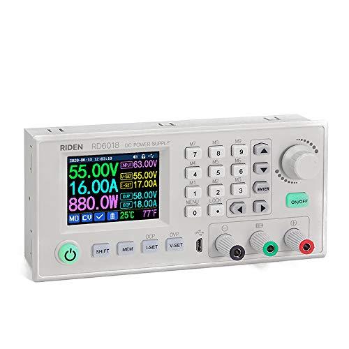 Fesjoy RD6018 18A Konstantspannung und Konstantstrom Gleichstromversorgungsmodul Tastatur PC Software Steuerspannungsmesser