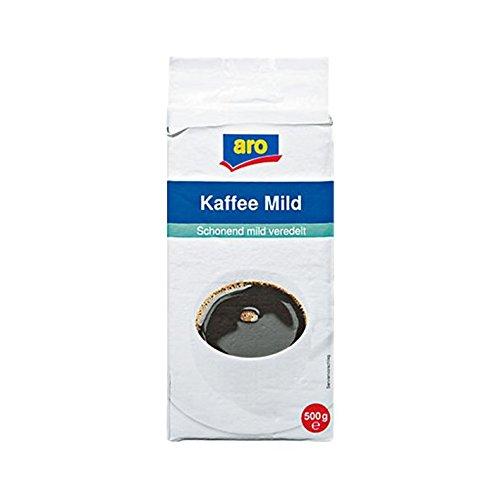 Aro Kaffee Mild gemahlen, 500g 1er Pack