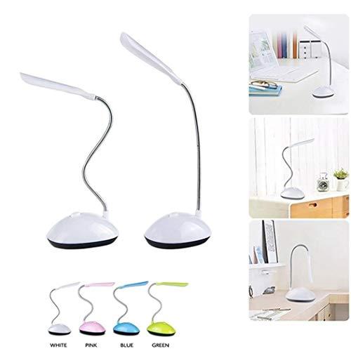 Kloius LED Lámpara de Escritorio Estudiante Plegable Protección para los Ojos Lámparas de Mesa Batería Luz Nocturna Lámparas de Escritorio