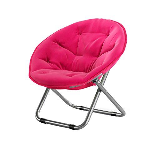 Folding Chairs Casa al Aire Libre Gran Luna Silla para Adultos/Sillón de...