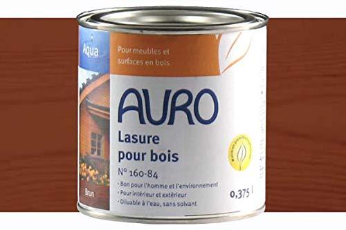 AURO Holzlasur, Aqua Nr. 160-84 Braun - 0,375L