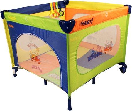 Parque de bebés Corralito Plegable Corral de Juego - ARTI BasicGo - arco iris Coche