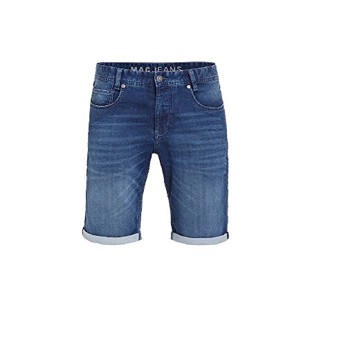 MAC Herren Jeans Shorts Jog'n Bermuda Light Sweat Denim, Größe:W30/L0;Farbe:Pure Indigo Used