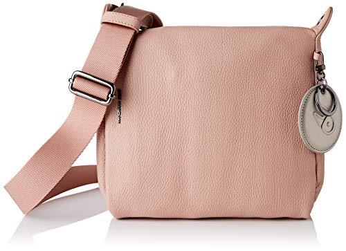Mandarina Duck Mellow Leather, Bolso de mano para Mujer, Rose Dawn, Taglia Unica