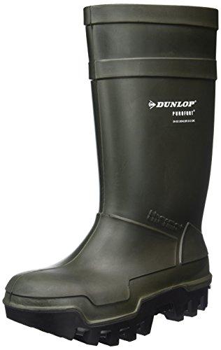 DunlopC662933 S5 THERMO+ - botas de caña alta de goma forradas Unisex adulto, Verde (Verde(Groen) 08), 43 EU