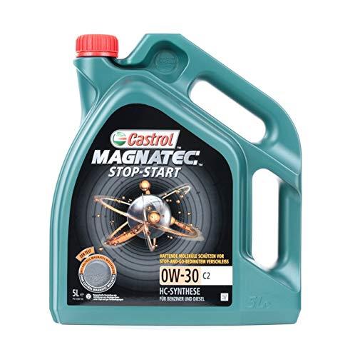 1 Aceite de motor CASTROL 15B3E5 Magnatec Stop-Start 0W-30 C2 adecuado para
