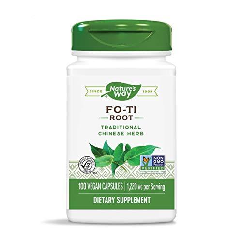 Nature's Way Fo-Ti Root, 1,220 mg per serving, 100 Capsules