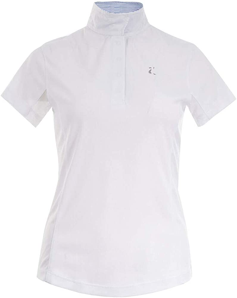 HORZE Women's cheap Blaire Short Max 59% OFF Sleeved Shirt Mesh Show Sun Under-Sl