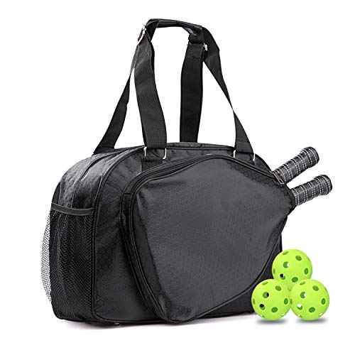 OSPUORT Pickleball Bags for Women with Water Bottle Holder Athletic Bag Durable Paddle Case, Travel for Men and Women