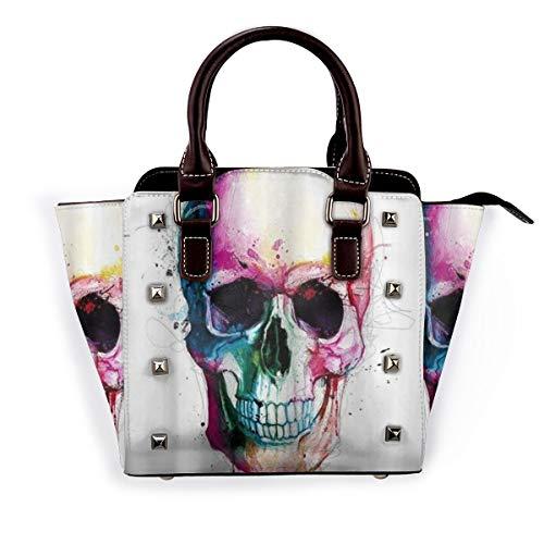 BROWCIN Halloween Scary Theme Design Abnehmbare mode trend damen handtasche umhängetasche umhängetasche