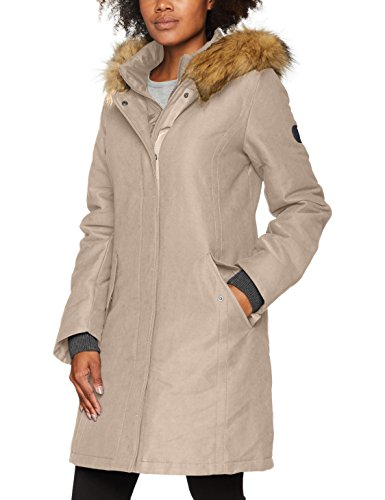 Marc O'Polo Damen 708047871023 Jacke, Beige (Light Caramel 727), 36