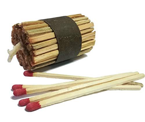 Generic Geruchsloser Anzünder für Indoor und Outdoor K-LUMET Perfekt für Grill, Herd, Kamin, Feuerstelle und Ofen | Öko-Lösung aus Holz und Wachs, Feueranzünder (48 Stück)