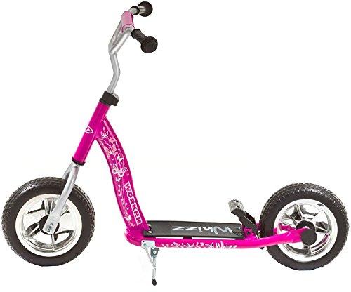 Scooter Whizz 100 lila-pink Kinderroller Neu: jetzt mit Rücktrittbremse Tretroller