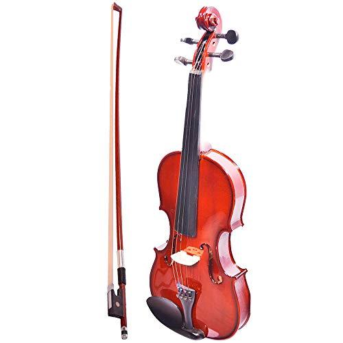 Violín de 4/4 La Sevillana color maple rojo