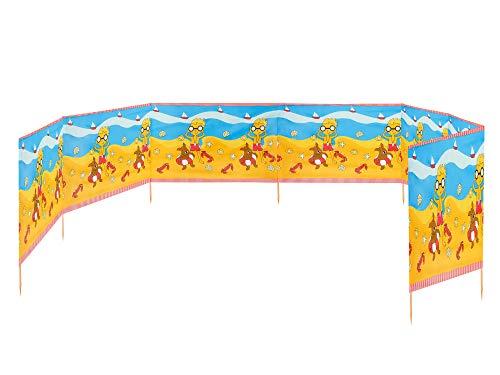 Ladeheid Strand Windschutz Sichtschutz 10 m lang LAEX001 (Strand)