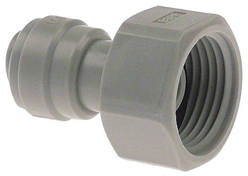 DMfit BSP 5/8 Raccord de tuyau avec raccord droit