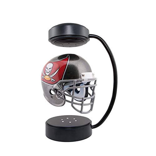 XYW Hover Football Helmet Schwebehelme, American-Football-Helm mit elektromagnetischem Halter, hängender Sportfan-Football-Helm, geeignet für Büro, Schlafzimmer, Wohnzimmer Kreative Geschenk