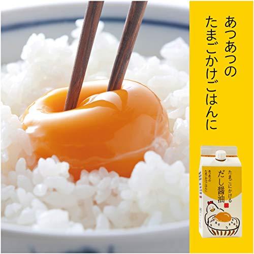 【鎌田醤油】たまごにかけるだし醤油 (4本)