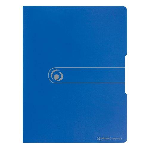 Herlitz 11207826 Sichtbuch PP A3/20 opak blau
