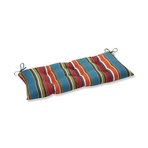 Pillow Perfect Indoor/Outdoor Westport Brown Swing/Bench Cushion